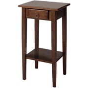 Winsome Trading Regalia Wood Accent Table, Brown, Each (94430WTI)