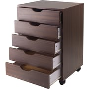 Winsome Composite Wood Halifax Cabinets With 5 Drawers