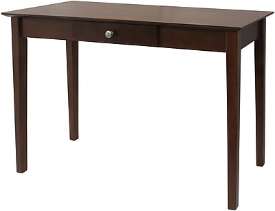 "Winsome Rochester 29"" x 44"" x 15.98"" Wood Shaker Console Table, Brown"