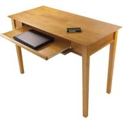 Winsome Studio Beech Wood Computer Desk, Honey
