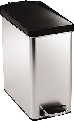 simplehuman® Profile Step Can, Stainless Steel, 2.6 Gallon (CW1180)