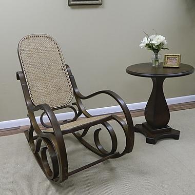 Carolina Cottage Victoria Bentwood Rocking Chair, Chestnut