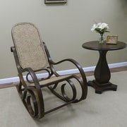 Carolina Cottage Victoria Bentwood Rocking Chair, Chestnut