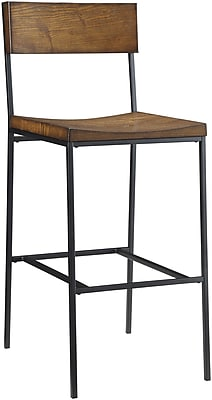 Carolina Cottage Berkshire Bar Stool, Black