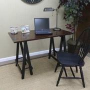Carolina Cottage Workman Sawhorse Writing Desk, (4020)