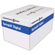 "IP Springhill® Opaque 8 1/2"" x 14"" 60 lbs. Colored Copy Paper, Canary, 5000/Case"