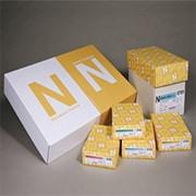 "Neenah Paper Classic® 8 1/2"" x 11"" 24 lbs. Laid Writing Paper, Avon Brilliant White, 5000/Case"