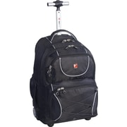"Swiss Gear® 15.6"" Rolling Laptop Backpack Black"