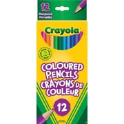 Crayola® Coloured Pencils, 12/Pack