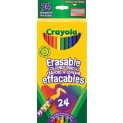 Crayola® Erasable Coloured Pencils, 24/Pack