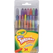 Crayola® Mini Twistable Crayons, 24/Pack