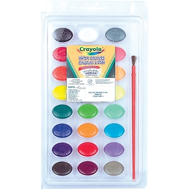 Crayola® Washable Watercolour Paint, 24 Colours