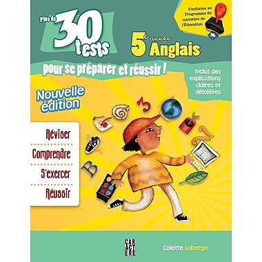 Fifth Grade 30 English Tests for French Students