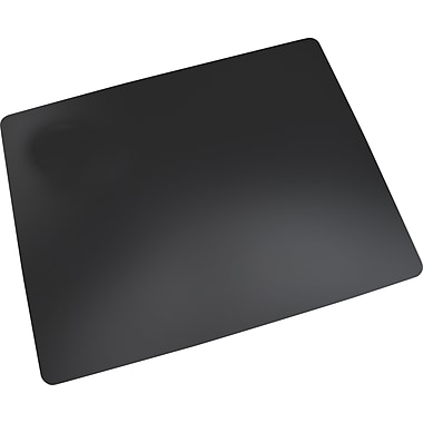 Artistic Eco-Black Desk Pad with Microban®, Black, 20