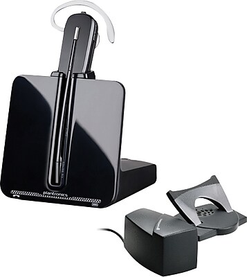 plantronics cs540 hl 10 wireless headset bundle handset lifter staples rh staples com Plantronics Handset Lifter For Plantronics Telephone Handset Lifter