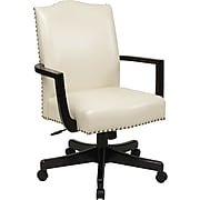 Inspired by Bassett Morgan Manager's Chair, Cream Eco Leather