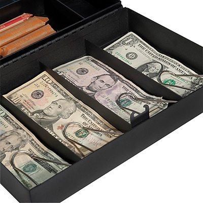 Barska Cash Box with Six Compartment Tray