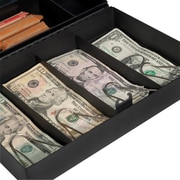 Barska Cash Box with Six Compartment Tray and Four Bill Holder by