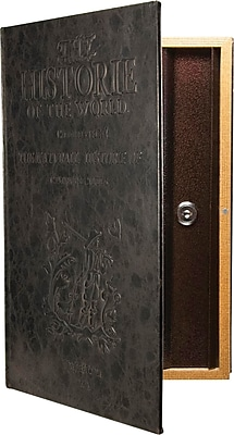 Barska Large Antique Book Safe with Key Lock