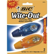 BIC® Wite-Out® Micro Correction Tape, 2/Pack