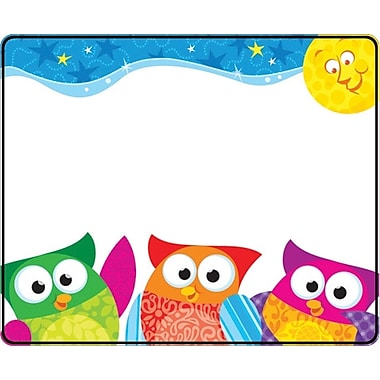 TREND Owl-Stars!™ Name Tags