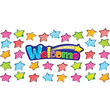 TREND Welcome Stars Mini Bulletin Board Set