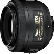 Nikon AF-S DX NIKKOR 35mm f/1.8G Lens, Black