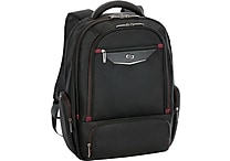 Solo Executive Black Fabric Laptop Backpack (EXE700-4)