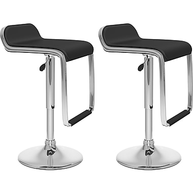 CorLiving™ Adjustable Bar Stool with Footrest