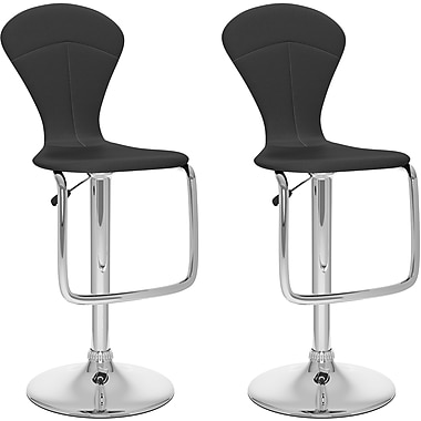 CorLiving™ Tapered Full Back Adjustable Bar Stool