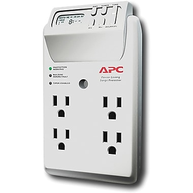 APC® 4-Outlet 1080 Joules Surge Suppressor