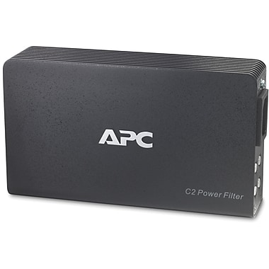 APC® 120V AV C Type 2-Outlet 1890 Joules Wall Mount Power Filter