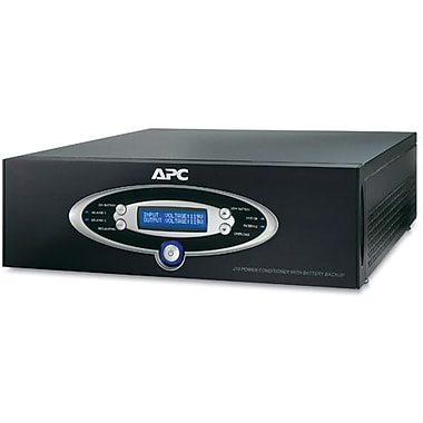 APC® AV Black J Type 1.5kVA Power Conditioner