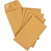 "Staples® Envelopes Kraft Coin #3, 2-1/2"" x 4-1/4"", 250/Box - Gummed"