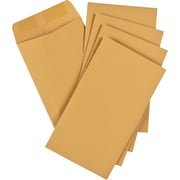 "Staples® Envelopes Kraft Coin #6, 3-3/8"" x 6"", 250/Box - Gummed"