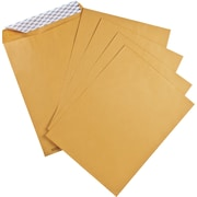 "Catalogue Envelopes with QuickStrip, 9"" x 12"", Kraft, 6/Pack"