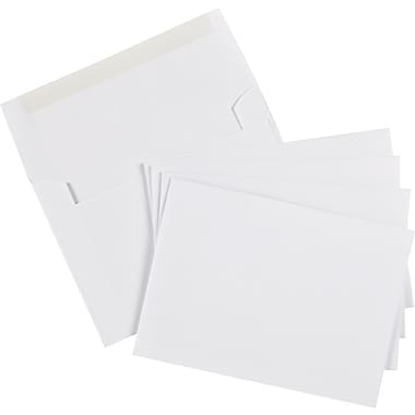 Staples® Photo Envelope, 4x6, 50/Pack