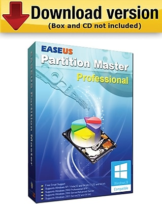 EaseUS Partition Master 10.0 Professional Edition for Windows (1 User) [Download]