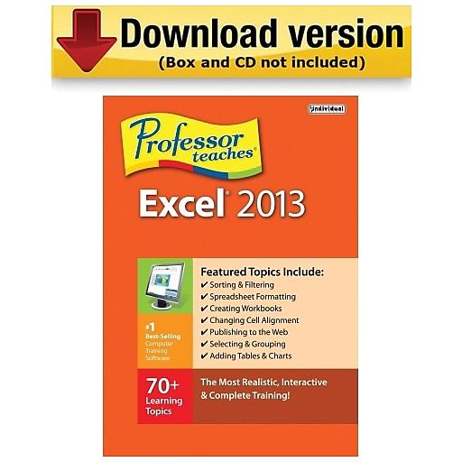 excel 2013 software