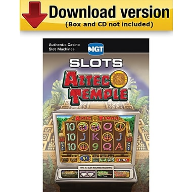 Encore IGT Slots Aztec Temple for Windows (1-User) [Download]