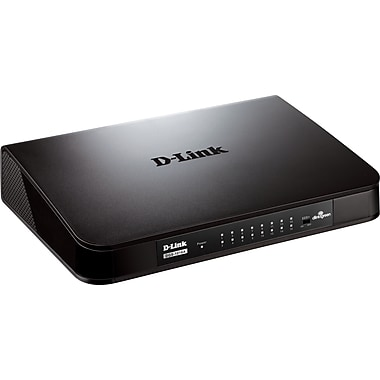 D-Link® DGS-1016A 16-Port Unmanaged Gigabit Switch