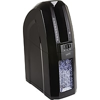 Staples Space-Saver 10-Sheet Cross-Cut Credit Card / Staples Shredder (Black)