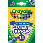 Crayola® Washable Crayons, 24/Pack