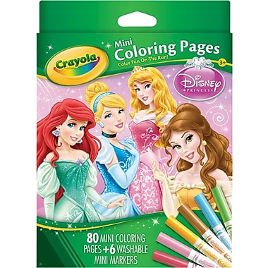 Crayola® Disney Princess Mini Coloring