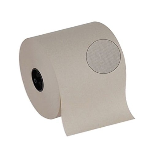 Georgia-Pacific® SofPull® Hardwound Paper Towels, 100% Recycled, 1 Ply, 1,000 Ft/Roll, 6 Rolls/Carton (26920)