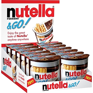 Nutella & Go 12/pack