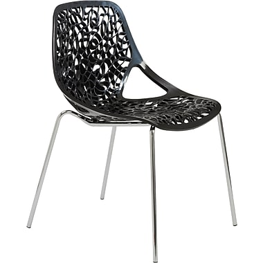 Euro Style™ Lovie Plastic Dining Side Chairs