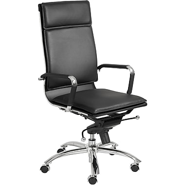 Euro Style™ Gunar Pro Leatherette High Back Office Chairs