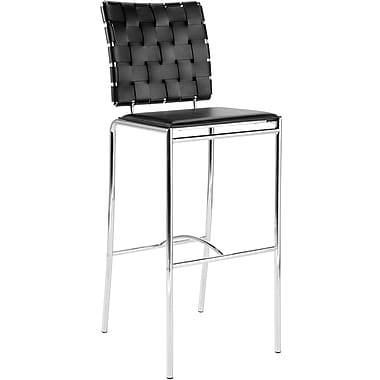 Euro Style™ Carina-B Leather Bar Stools