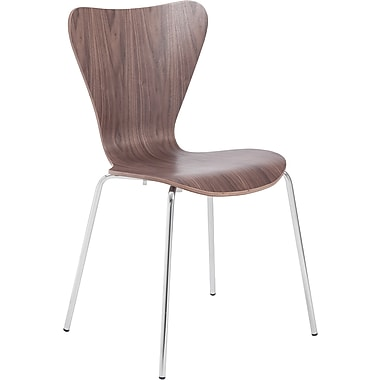 Euro Style™ Tendy Laminated Wood Dining Side Chair, Walnut